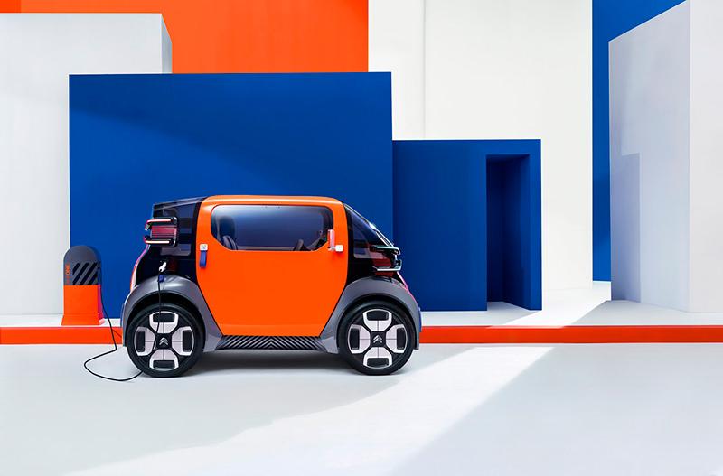 Citroën разрабатывает миниатюрный электромобиль