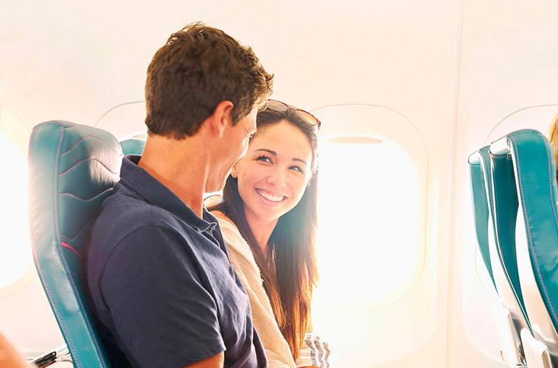 Создано приложение для романтических знакомств в самолёте