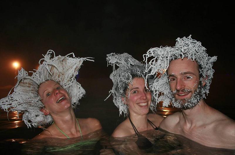 В Канаде проходит конкурс замёрзших причёсок