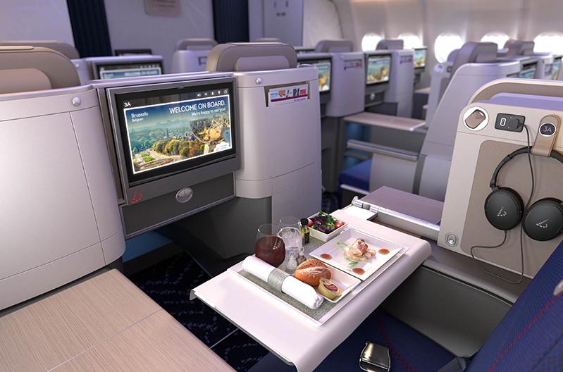 Brussels Airlines откроет в воздухе бутик-отель