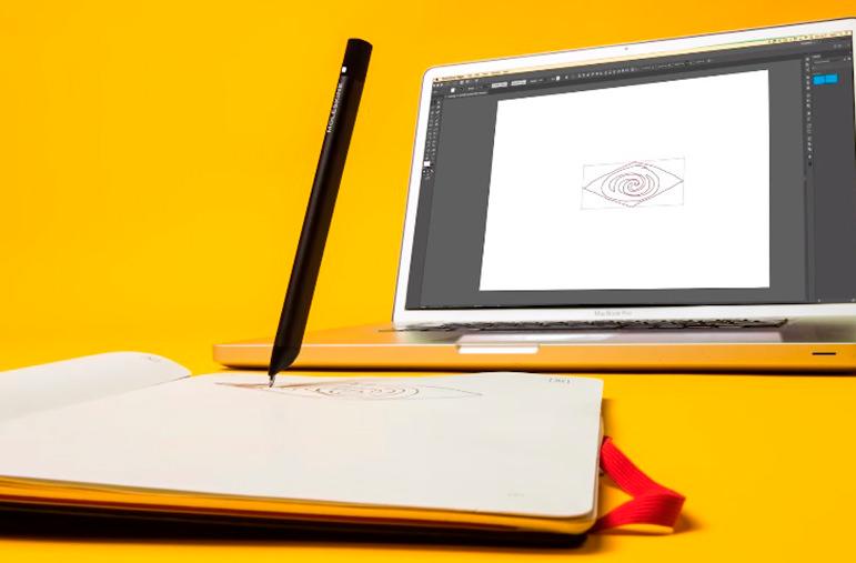 Moleskine и Adobe создали гибрид скетчбука и планшета