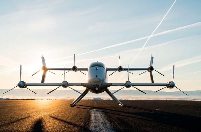 Опубликовано видео полёта беспилотного аэротакси от Airbus