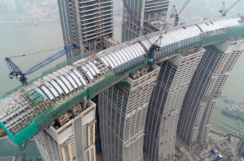 В Китае строится горизонтальный небоскрёб