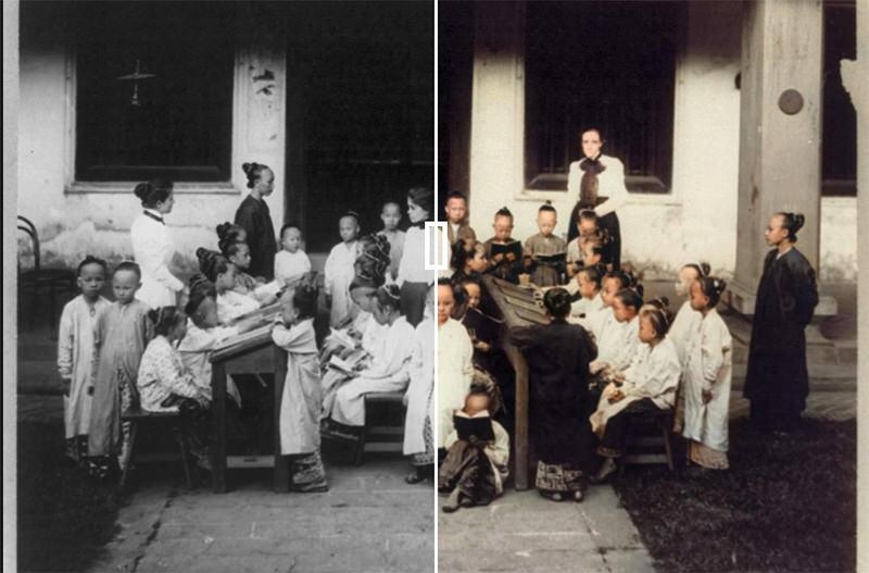 В Сингапуре нейросеть научили раскрашивать чёрно-белые фото