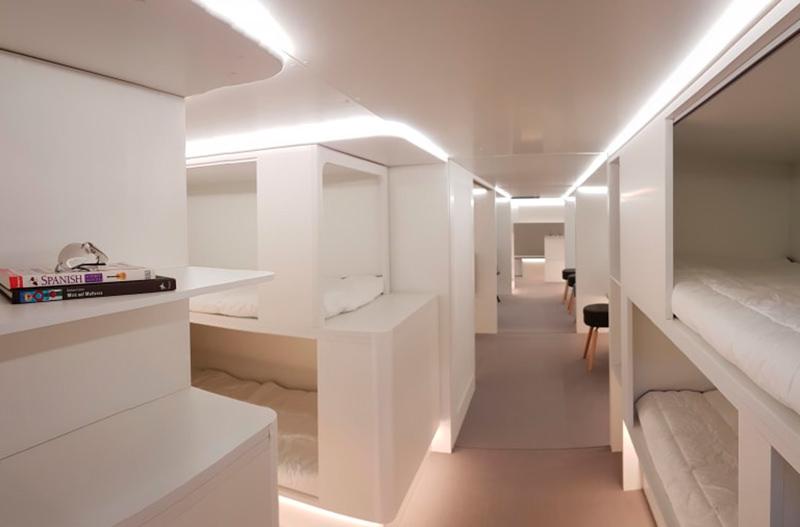 Airbus будет размещать спальные места в грузовом отсеке