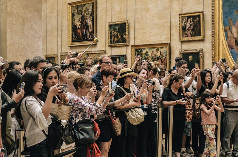 Билеты в Лувр будут продаваться по расписанию