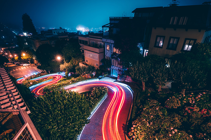 Самая извилистая улица Сан-Франциско станет платной