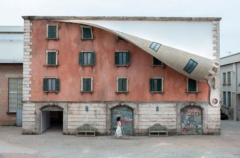 В Милане появилось здание с дизайном в виде гигантской зип-молнии