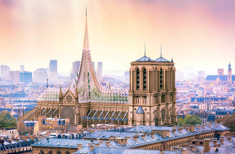 На крыше собора Нотр-Дам хотят сделать сад