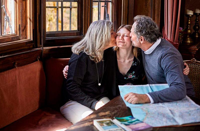 Новый тренд туризма: внуки путешествуют с бабушками и дедушками