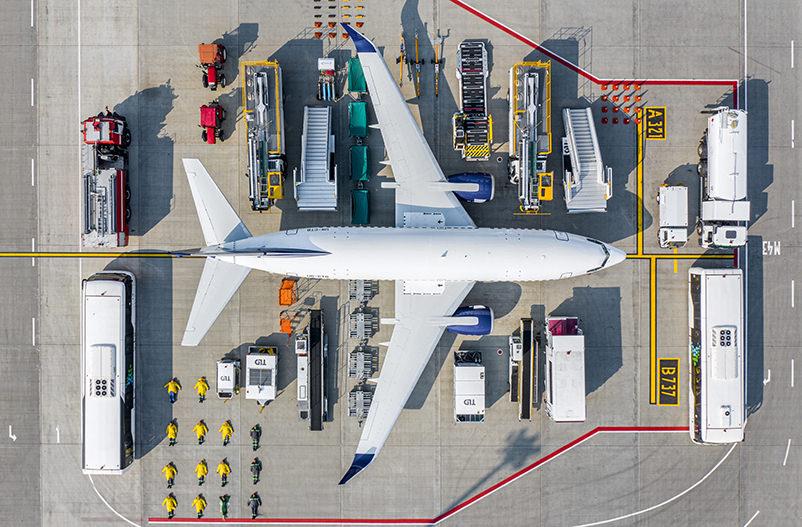 Аэропорт Жуляны присоединился к флешмобу #tetrischallenge