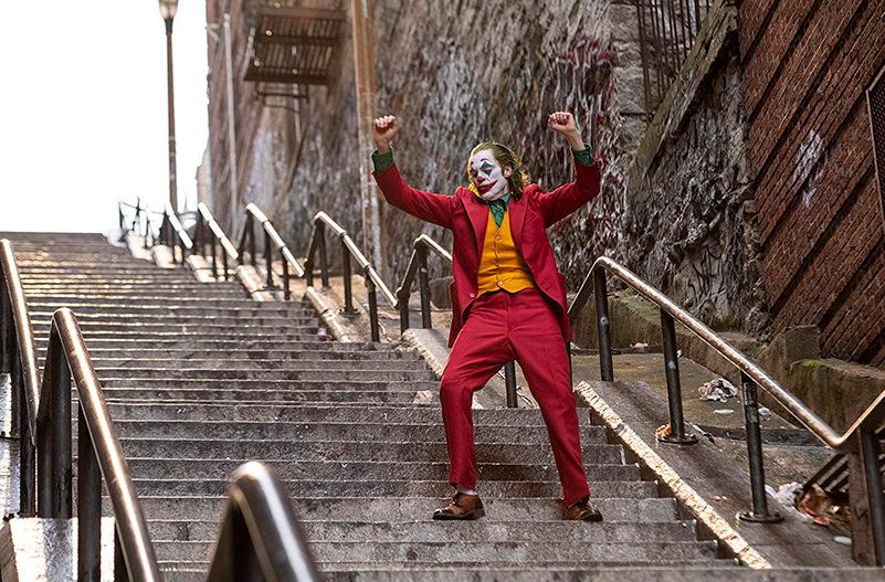 Лестница из Джокера стала популярной достопримечательностью