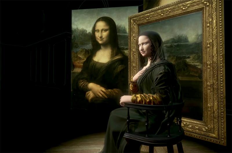 Лувр показал 3D-репродукцию Моны Лизы