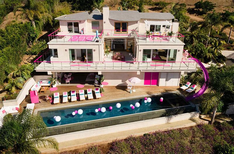 На Airbnb можно арендовать дом Барби