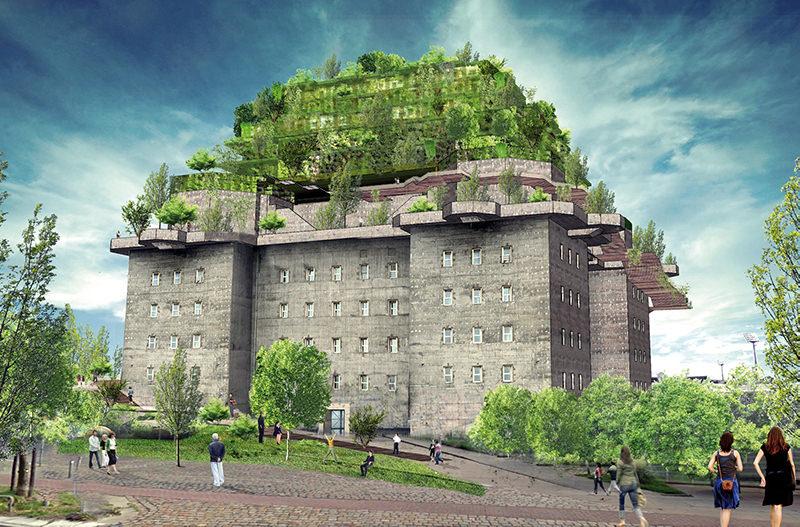 Нацистский бункер в Гамбурге превратят в отель