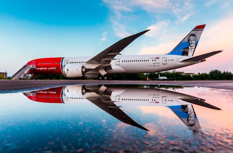 Norwegian Air будет использовать приложение для уменьшения углеродного следа