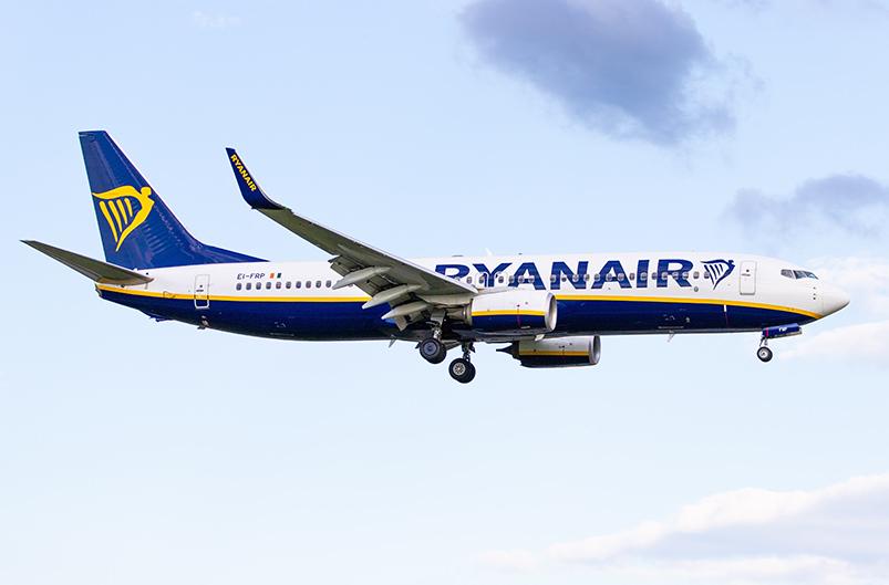 Ryanair будет летать из Польши в Херсон и Харьков