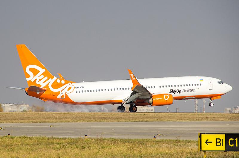 SkyUp расширяет маршрутную сеть из Львова и запускает рейсы внутри страны
