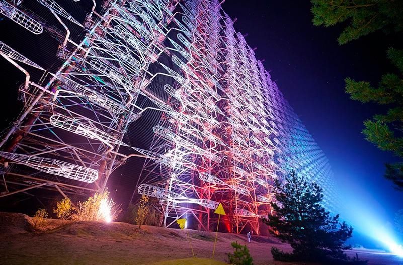 В Чернобыле создали самую большую лазерную инсталляцию в Украине