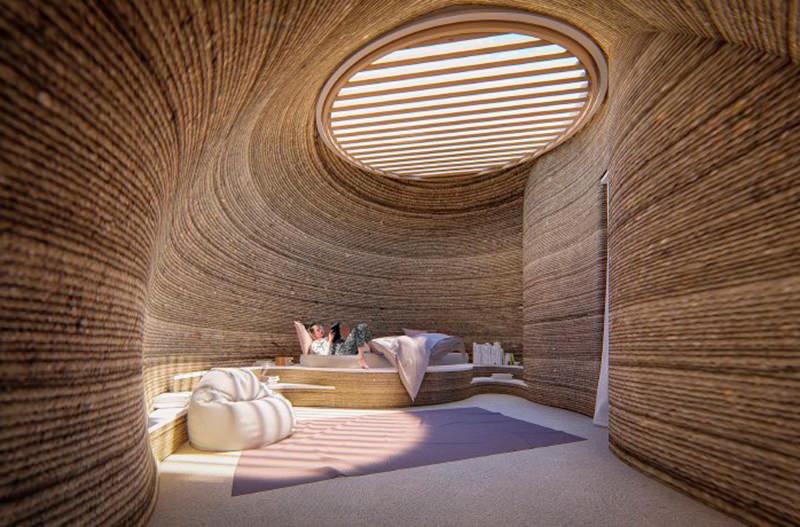 В Италии на 3D-принтере построят эко-жильё