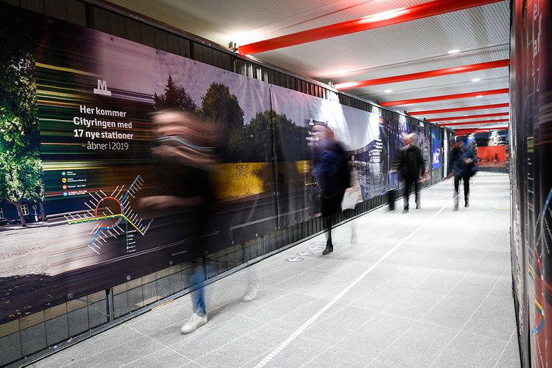 В Копенгагене открыли новую кольцевую линию метро