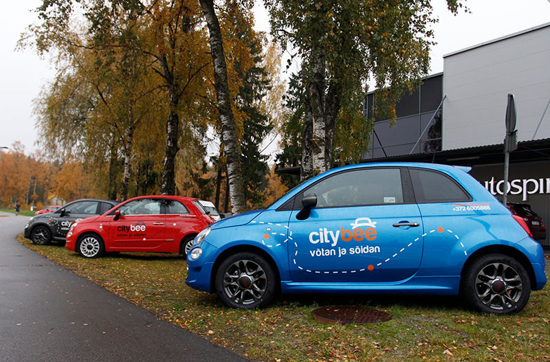 В Таллинне появится каршеринг от CityBee