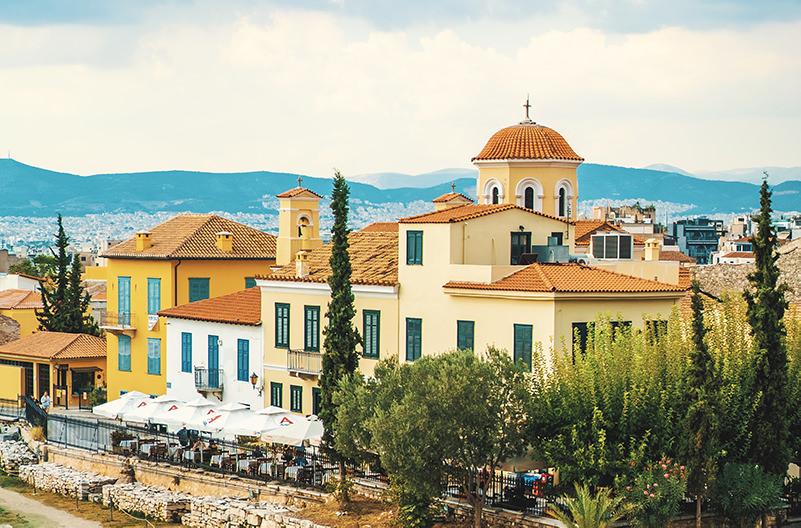 Жители Афин выступают против Airbnb