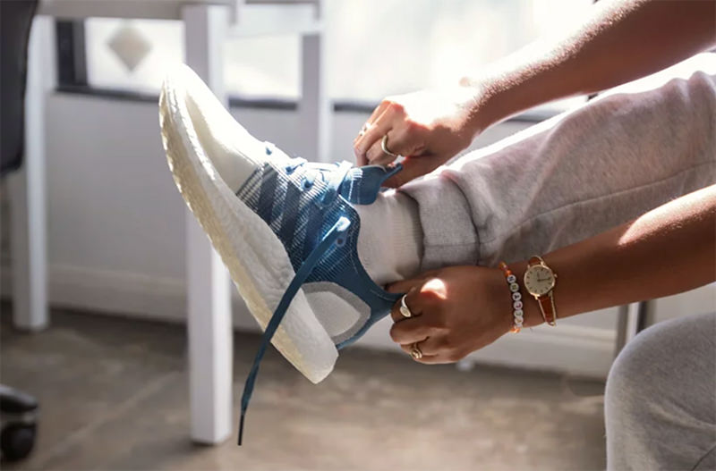 Adidas показал новые полностью перерабатываемые кроссовки