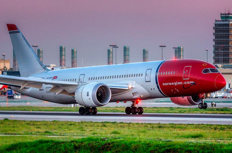Norwegian открывает новые рейсы из Польши и Литвы