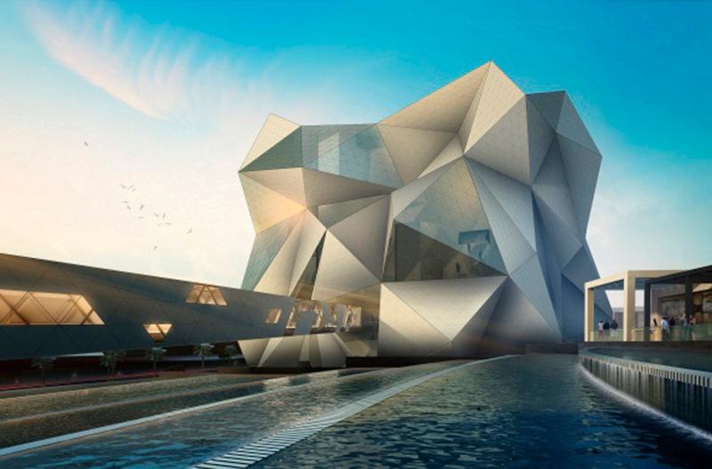 В Абу-Даби откроется самый большой крытый комплекс для скалолазов и парашютистов