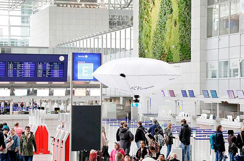 В аэропорту Франкфурта протестировали летающие устройства наблюдения