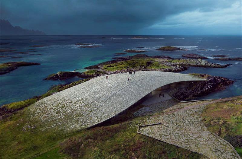 В Норвегии откроется достопримечательность в форме кита