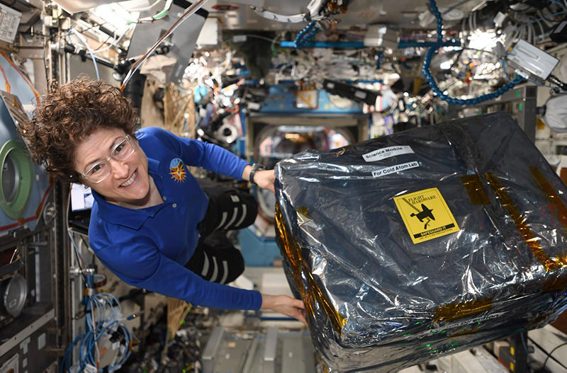 Американка установила рекорд длительности полёта в космосе