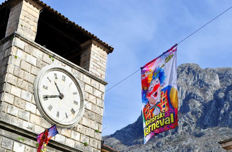 Черногория приглашает на зимний карнавал в Которе
