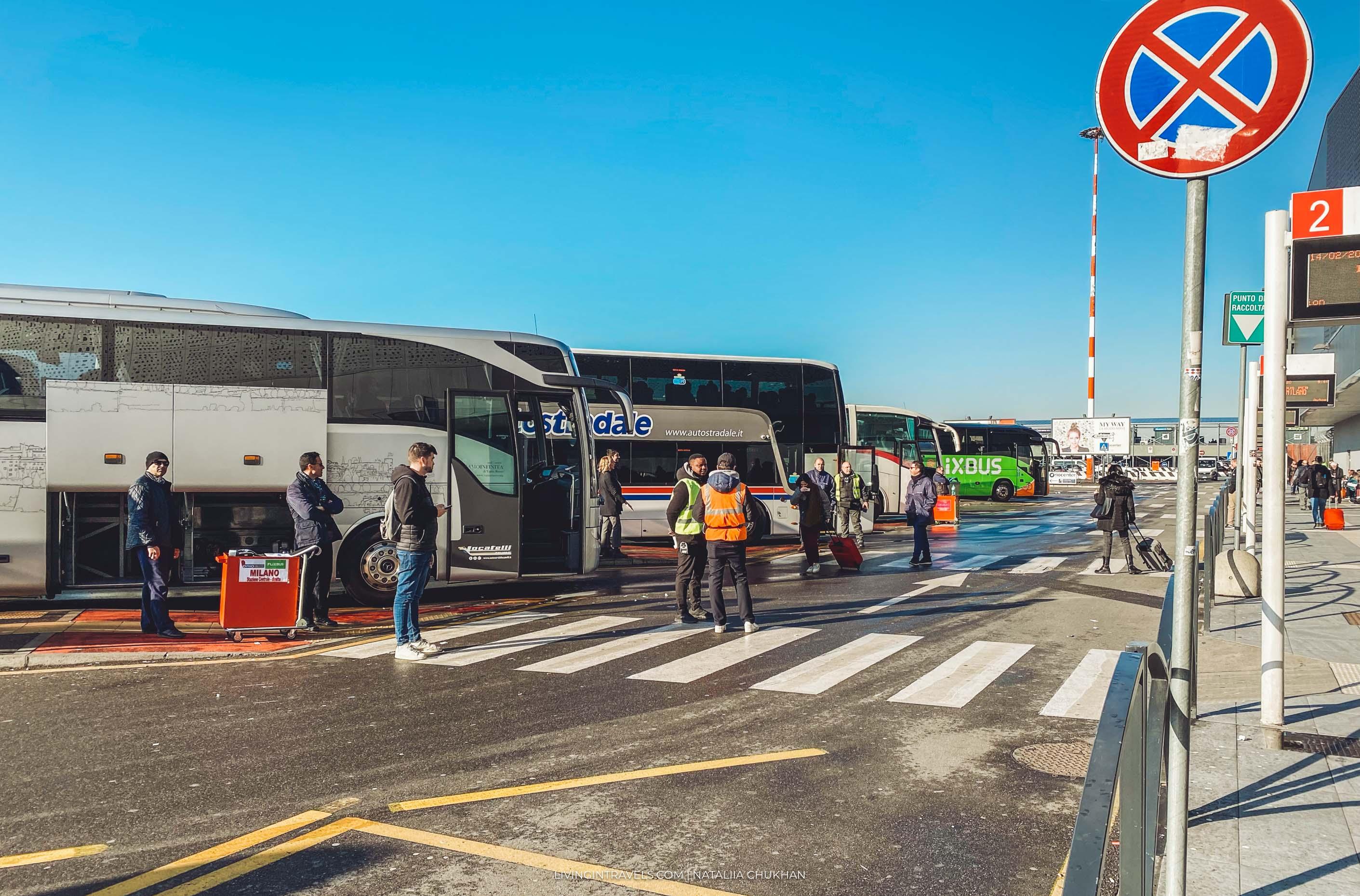 Аэропорт Милан-Бергамо: как добраться в центр Милана