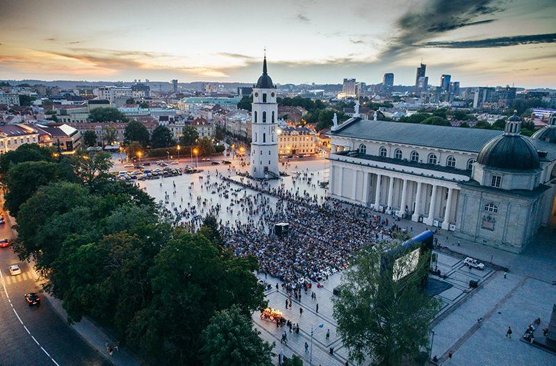 Литовское агентство по туризму разыгрывает поездку в Вильнюс