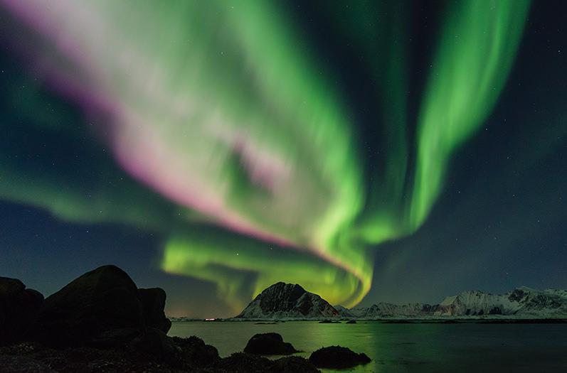 В интернете запустили прямую трансляцию северного сияния