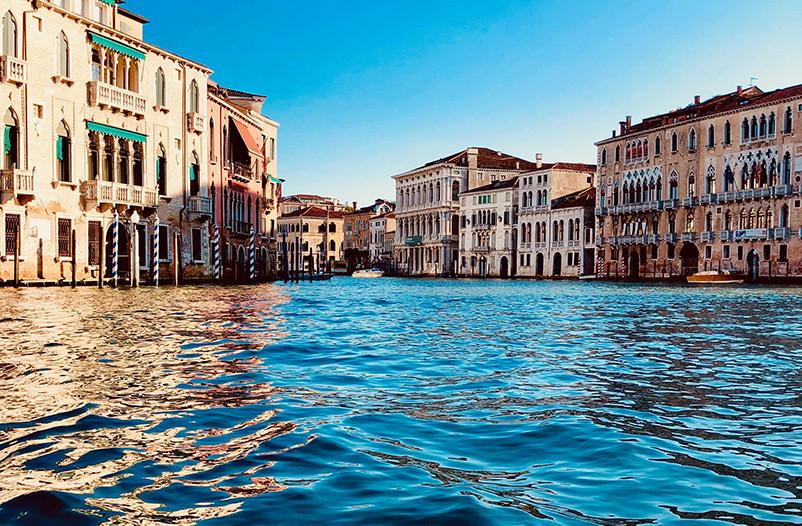 Вода в каналах Венеции стала чище