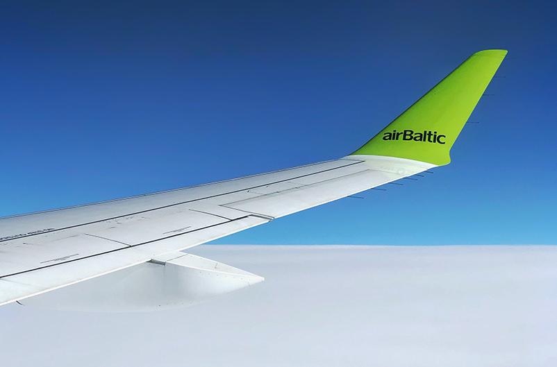 airBaltic откроет новые направления из стран Балтии