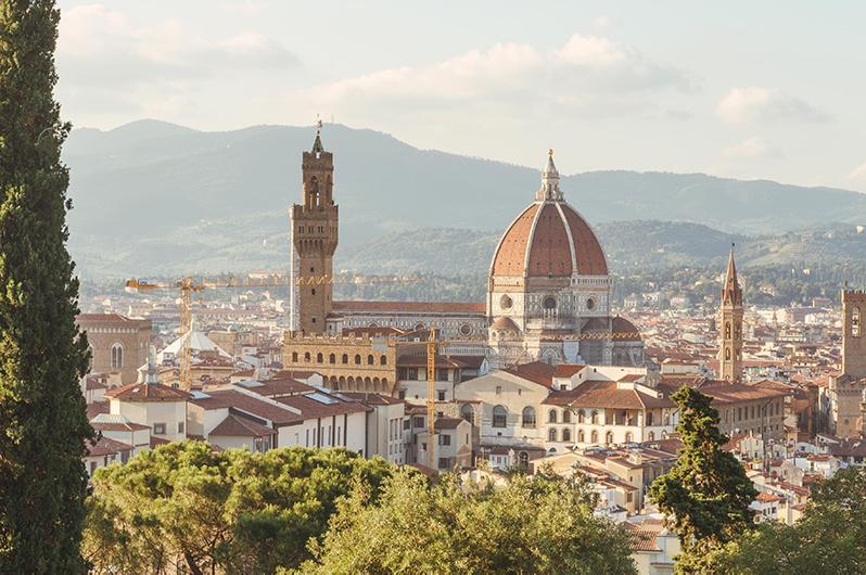 Музей во Флоренции будет раздавать посетителям датчики для дистанцирования