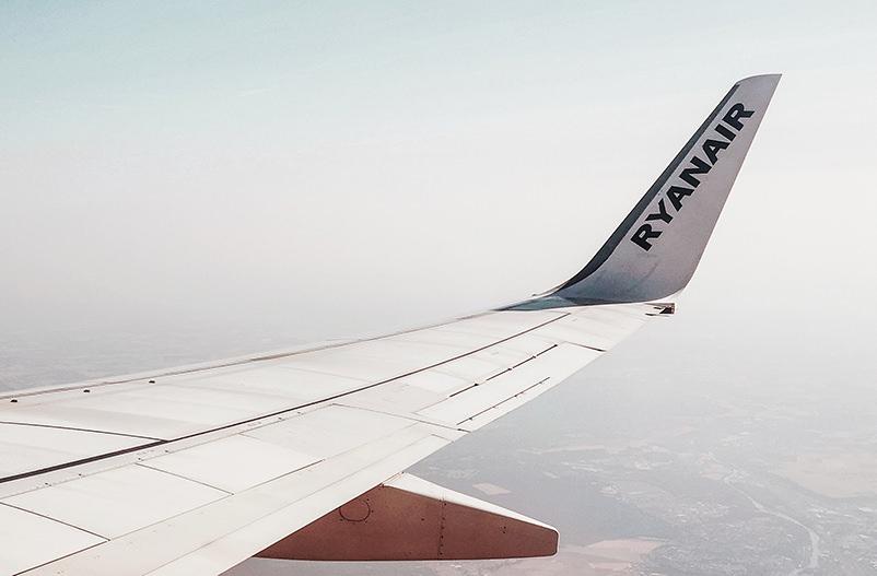 Ryanair будет летать из Одессы в Афины и Барселону