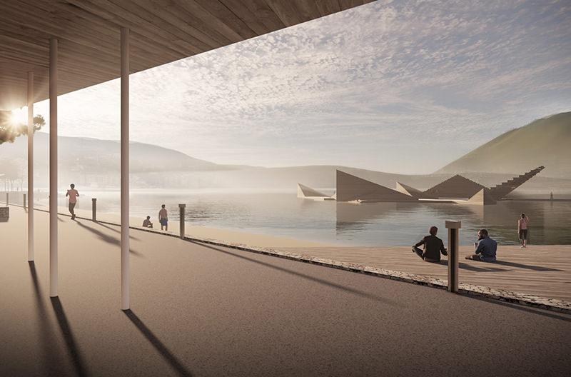 В Норвегии построят плавучий бассейн