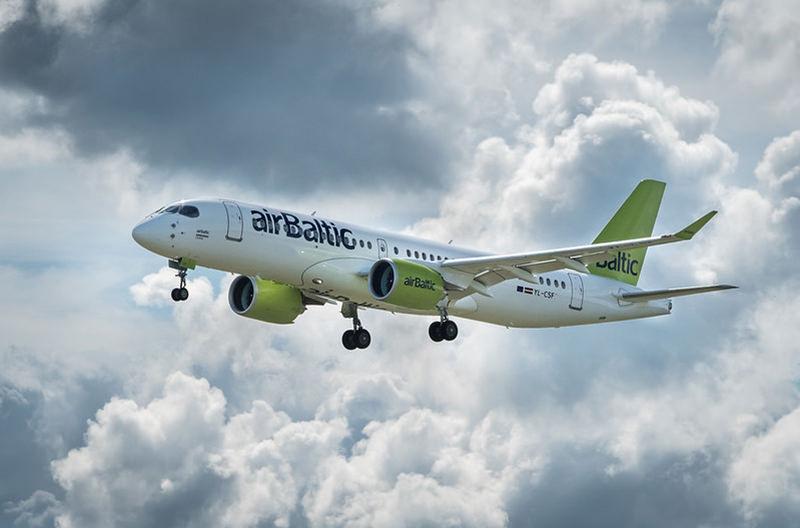 airBaltic возобновляет рейсы из Киева в Вильнюс