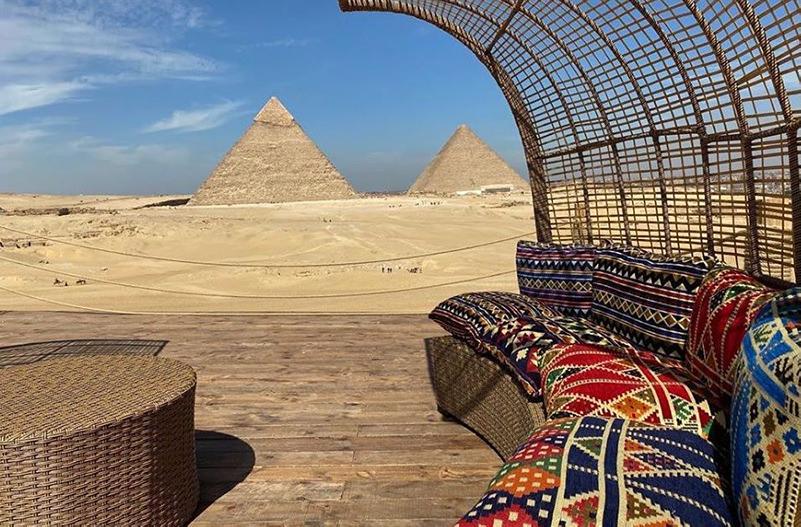 У пирамид Гизы откроется лаунж-зона